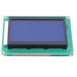 12864 128x64 Pixel Graphic Display LCD with Blue Backlight