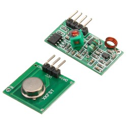433MHz RF Link Transmitter Receiver - Onboard Antenna