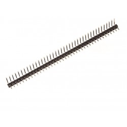 40 Pin 2.54mm Pitch Male 90 Degree Bend Pin Header Single Row