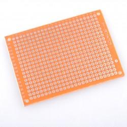 Single Sided 5x7 cm Prototyping Bread Board