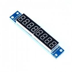 MAX7219 7 Segment 8 Digit LED Display Module