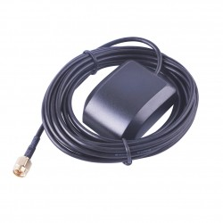 1575.42 MHZ Active GPS Antenna with 3M Cable with Male SMA Connector