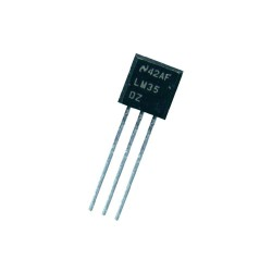LM35 Temperature Monitor Sensor IC LM35D LM35DZ
