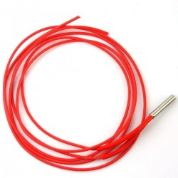 12V Ceramic Cartridge Heater with 100cm Wire