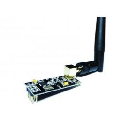 NRF24L01 + PA + LNA Wireless Long Range Transceiver Module w/ Antenna