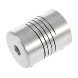 5mm x 5mm Flexible Shaft Coupling