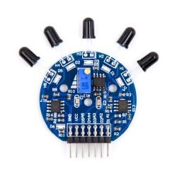 5 Way Flame Detection Sensor