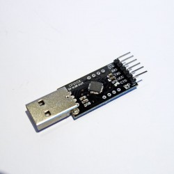 CP2102 USB 2.0 To TTL RS232 Serial Programmer Adapter w/ DTR Line