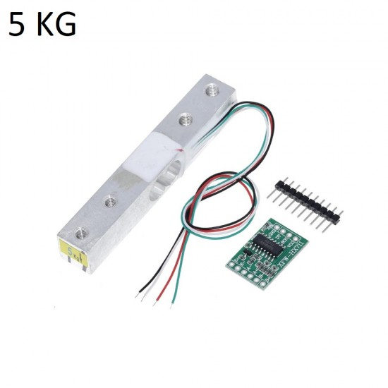 5KG Load Cell Weight Sensor and HX711 AD Module Kit