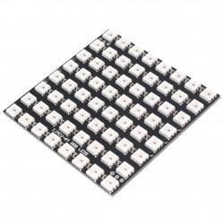 64bit 8x8 5050 WS2812 Addressable RBG LED Square Matrix, NeoPixel Compatible