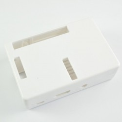 Raspberry Pi B+ and Raspberry Pi 2 White Case