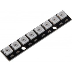 8 Bit 8 x 5050 WS2812B Addressable RBG LED, NeoPixel Compatible