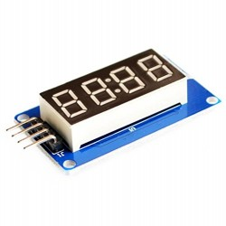 4 Digit 7 Segment Clock Common Anode Display TM1637