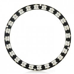 24bit 24 x 5050 WS2812 Addressable RBG LED Ring, NeoPixel Compatible