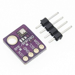 BME280 Temperature, Humidity and Barometric Pressure Sensor.