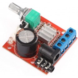 PAM8610 is a 10+10W dual channel stereo Class-D Amplifier Module
