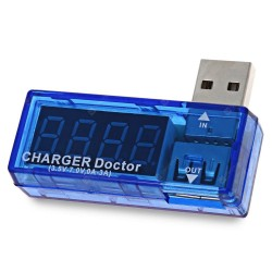 Charger Doctor USB Testing Diagnosis Voltmeter and Current Ammeter