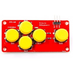 5 Button Keypad Remote Controller Board