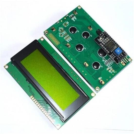2004 20x4 IIC I2C Yellow LCD Character Display