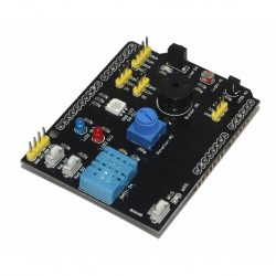 9-in-1 Learning Sensor Shield LED Temperature Humidity Switch