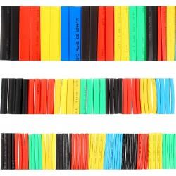 164 Piece 2:1 Heat Shrink Tube Tubing Sleeve Assortment Kit